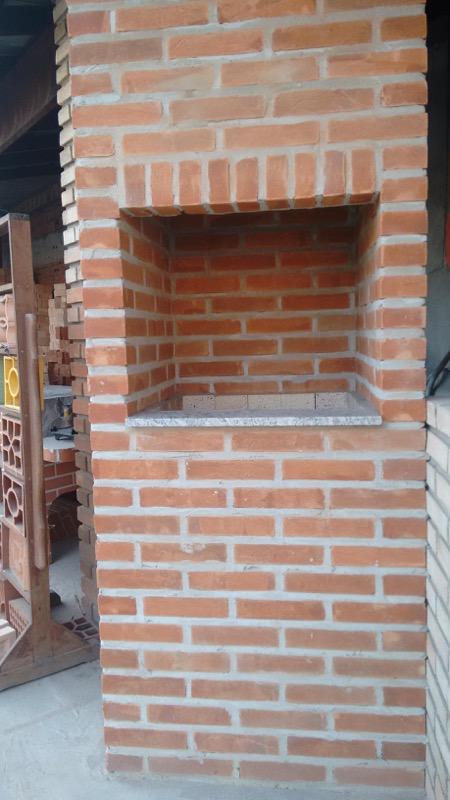 Churrasqueira rustica modelo box