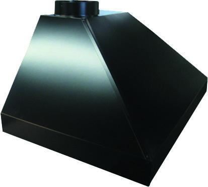 Coifa pintura eletrostática preta (consulte cores disponíveis)