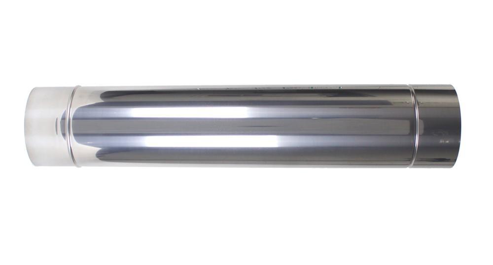 Duto aço inox (com brilho ou escovado)