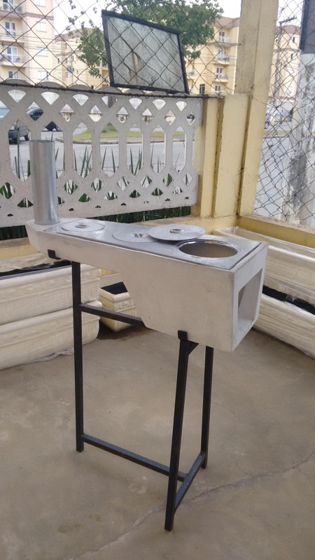 Fogão a lenha portátil (mesa ou suspenso)