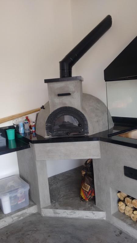 Forno iglu cimento queimado (cliente)