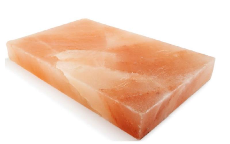 Pedra de sal do Himalaia 30x20x4 cm