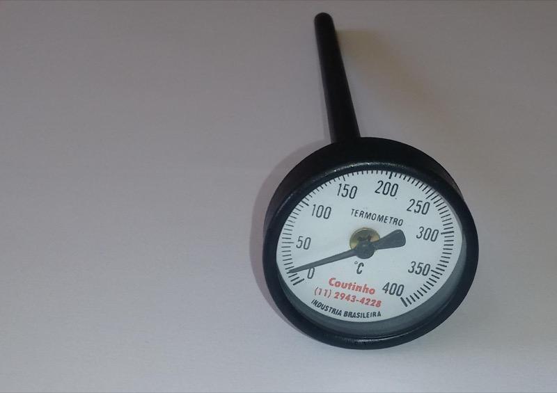 Termômetro analógico 0 - 400 ºC